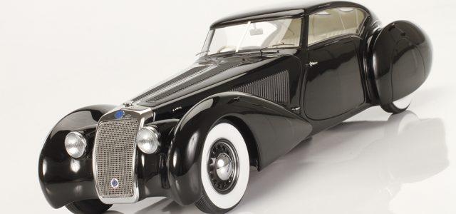 Automodello 1937 Delage D8-120 S Aerodynamic Coupe by Pourtout