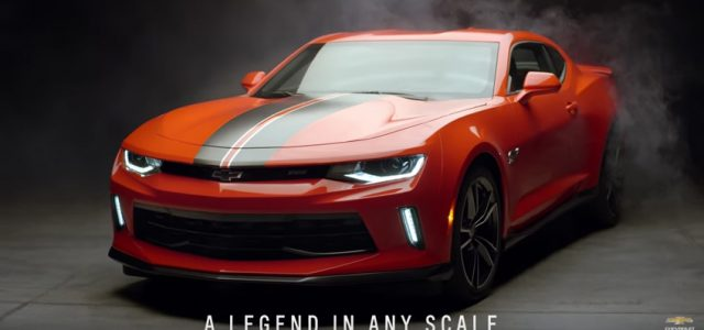 Oh HELL YES! Chevy builds a Hot Wheels Camaro anyone can buy!