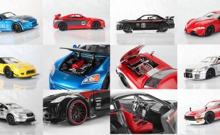 Jada Throttles Up its Diecast JDM Tuners Series Collectibles