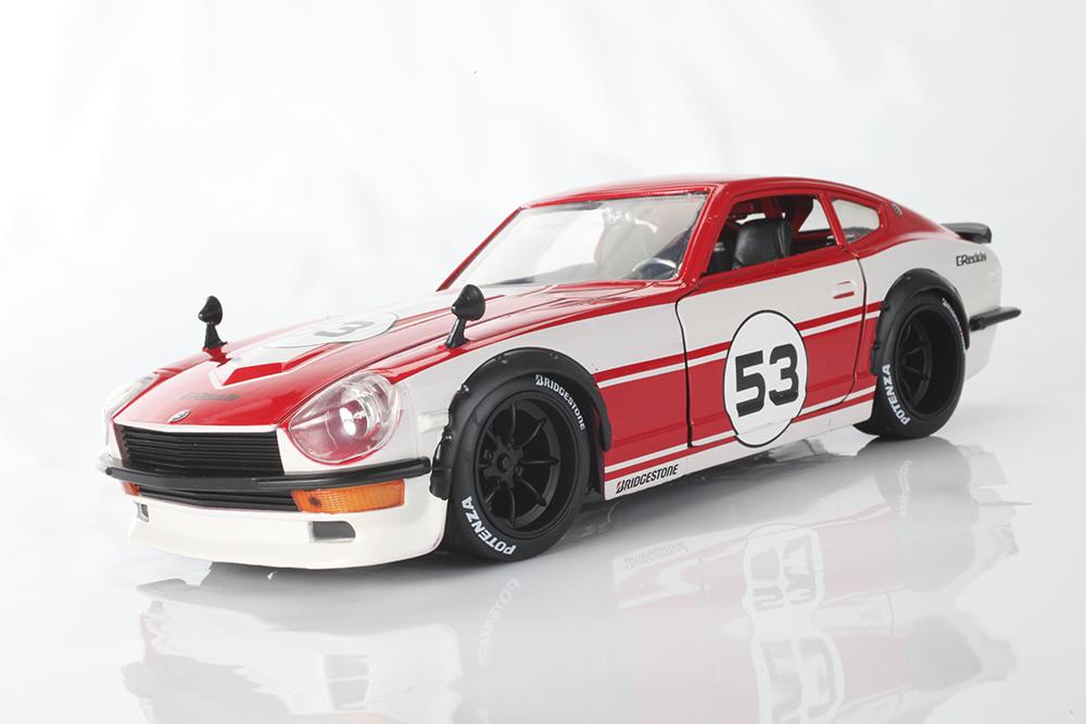 Collectible, Diecast, Jada, JDM, Import Tuner, Datsun, Z, Fast & Furious, Japan