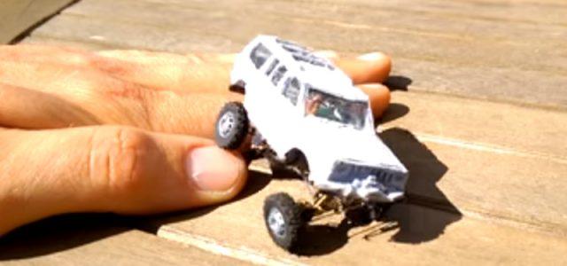 4×4 Mini Models That Move! [VIDEO]