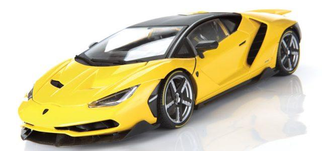 Maisto Exclusive Edition Lamborghini Centenario 1 18 Scale Diecast
