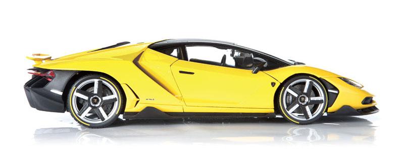 Maisto Exclusive Edition Lamborghini Centenario side view