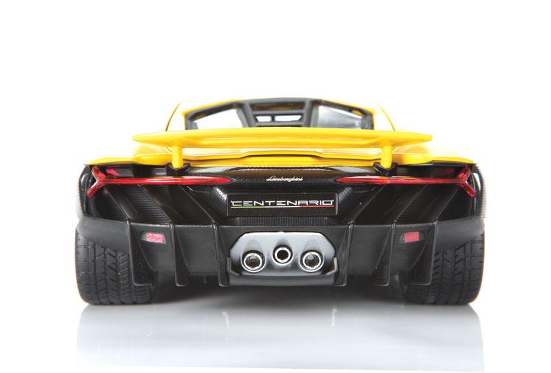 Maisto Exclusive Edition Lamborghini Centenario rear view