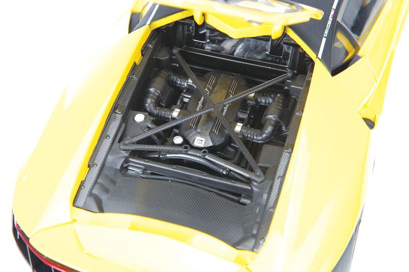 Maisto Exclusive Edition Lamborghini Centenario top view