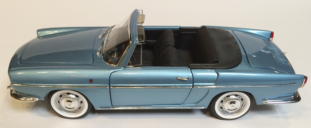 Norev, 1964 Renault Caravelle, 1:18, 1/18, diecast, HobbyDB, French, rear-engine