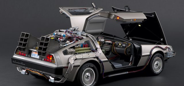 Great Scott! A Back to the Future DeLorean that You Build from the Ground Up! [Sponsored by EAGLEMOSS]