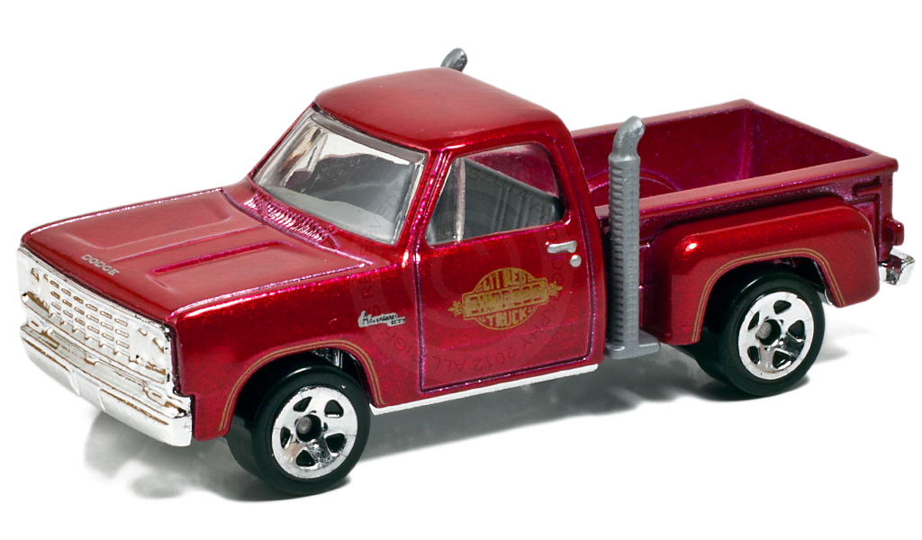 Muscle Car, Muscle Truck, Diecast, Collectible, Hot Wheels, Mopar, Dodge, Lil Red Express, 1/64, 1970s