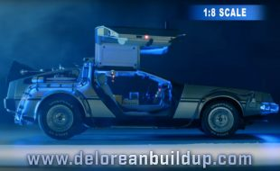 Build Your Own Giant Scale DeLorean Time Machine [VIDEO]