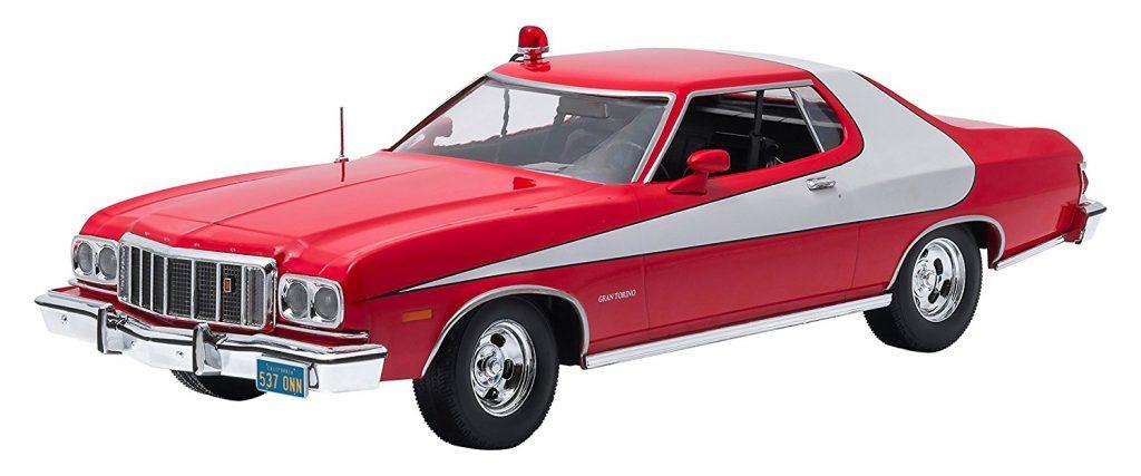 Muscle Car, Diecast, Collectible, Starsky & Hutch, Torino, Coke Stripe, TV Star Car, GreenLight, 1/18, 1970s