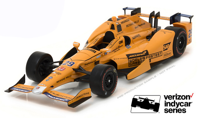 Daytona, Le Mans, Fernando Alonso, Prototype, Diecast, collectible, Scale Replica, race car, sports car, Indycar, Formula 1