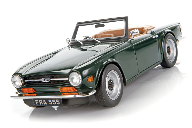 Diecast review: LS Model Triumph TR6