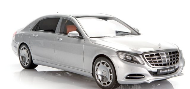 Diecast reviews: AUTOart Mercedes-Maybach S600