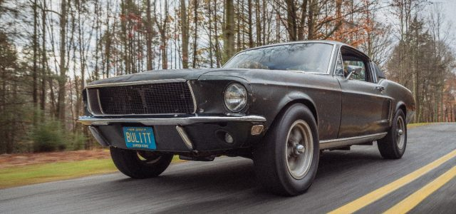 Bullitt is Back! McQueen's Movie Mustang Returns for the film's 50th Anniversary