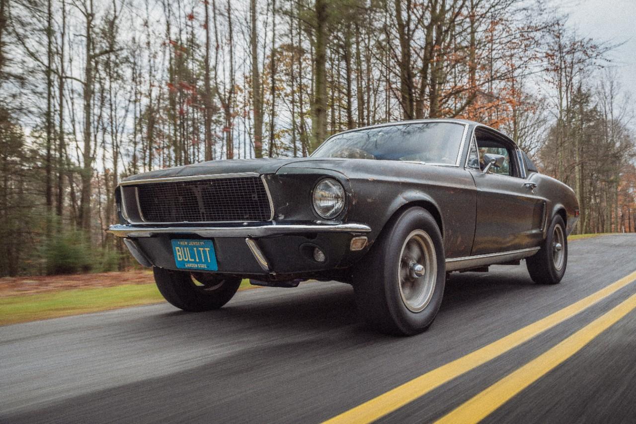 Bullitt is Back! McQueen's Movie Mustang Returns for the