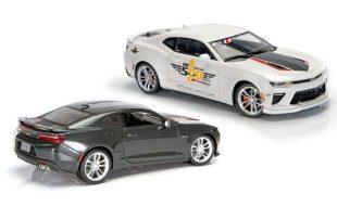 Diecast Review: Auto World and Maisto  50th-Anniversary Camaros