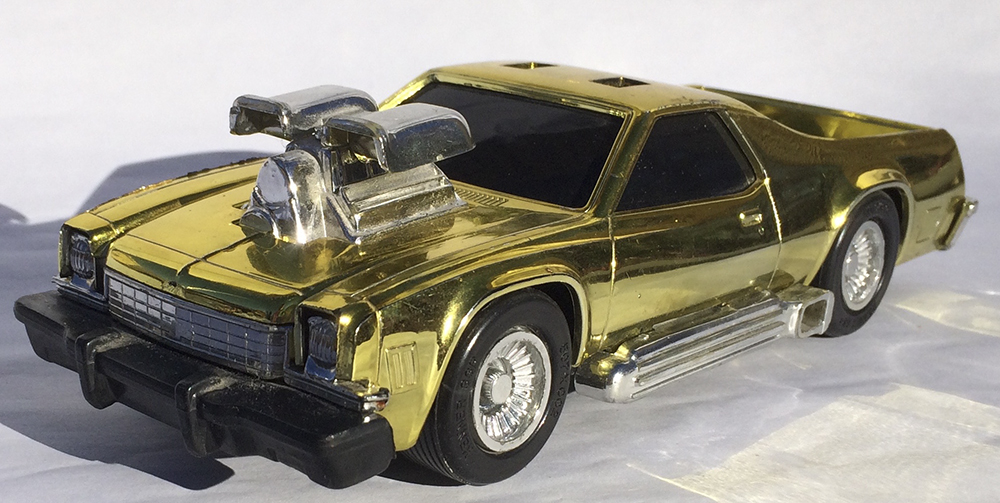 Collectible, Muscle Car, Scale Model, Rip-Cord, Kenner, Stunt Car, El Camino, Hot Rod
