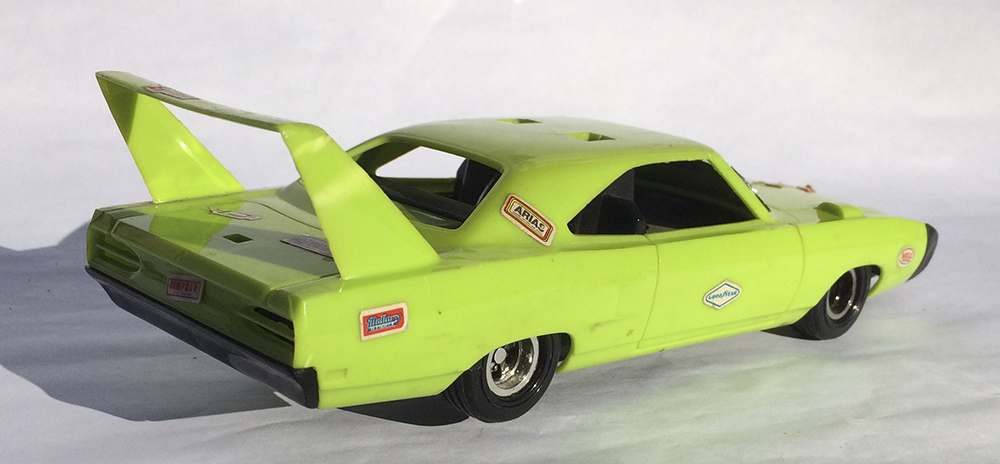 Collectible, Muscle Car, Scale Model, Rip-Cord, Kenner, Stunt Car, Mopar, Plymouth, Superbird, Hemi, Winged Warrior