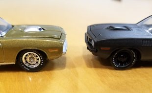 Diecast Head to Head: Hemi Cudas from GreenLight and M2 Machines