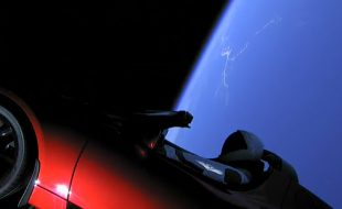 VIDEO: Watch a Tesla Roadster go 16,500mph and Launch into Space with Hot Wheels Hitching a Ride!
