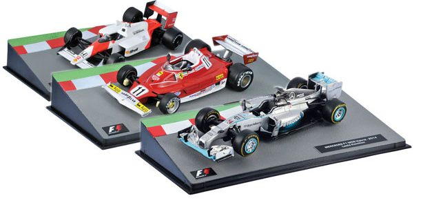 Diecast F1 Car Collection