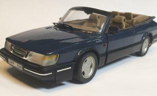 Diecast Saab Story: The Anson Saab 900 Turbo Cabriolet