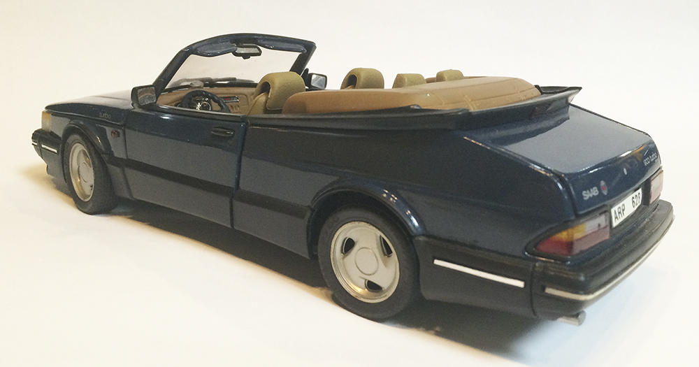 Diecast model, Collectible, Replica, 1:18, Saab 900 Turbo, Convertible, Cabriolet, Anson, European
