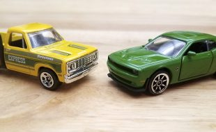 Diecast Head-to-Head: Majorette Hellcat Challenger vs Hot Wheels Lil Red* Express