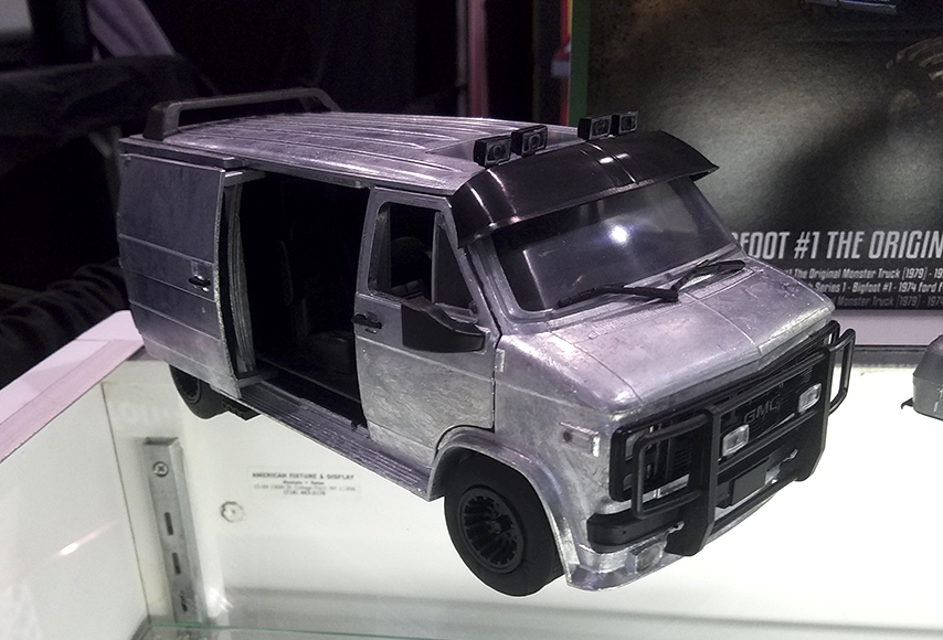 Highway 61, A-Team Van, GMC, TV Star Car, 1:18, Muscle Car, diecast, collectible