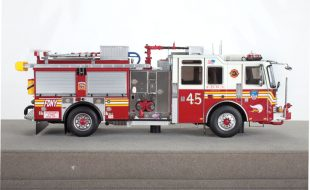 Fire Replicas  FDNY Engine 45 KME Severe Service Pumper