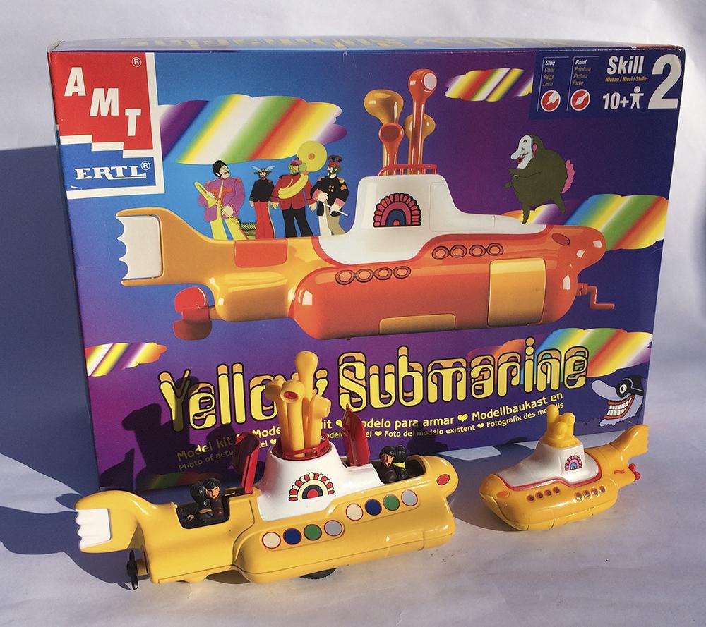 The Beatles, Hot Wheels, Corgi, AMT, Ertl, Music Collectible, John Lennon, Yellow Submarine