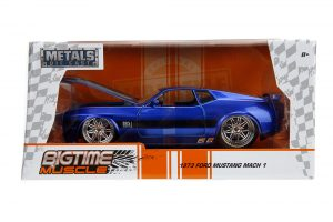 Diecast Muscle Car, Mustang, Collectible, Replica, Jada, Big Time Muscle, 1:24 scale