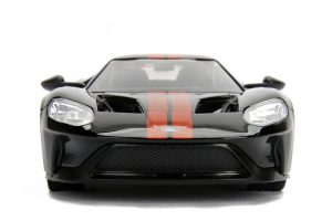 Diecast Sports Car, Exotic, Supercar, Ford GT, Ecoboost, Collectible, Replica, Jada, Big Time Muscle, 1:24 scale