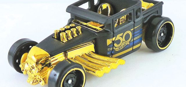 Hot Wheels Flashback  – Celebrating Hot Wheels 50th Anniversary with Black & Gold