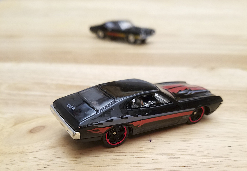 Diecast Muscle Car, Collectible, 1/64 scale, 1:64, Johnny Lightning, Hot Wheels, Ford, Torino, Fairlane, 429