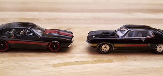 Diecast Head-to-Head: Johnny Lightning vs Hot Wheels Ford Torinos