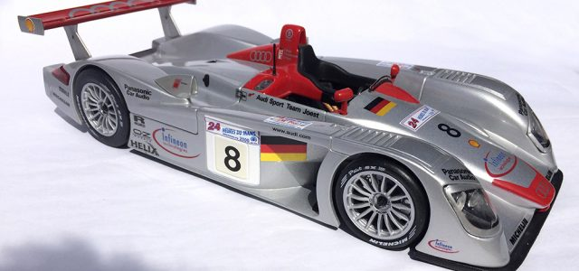 Maisto Audi R8 LMP 1:18 Diecast Collectible [Rear View]