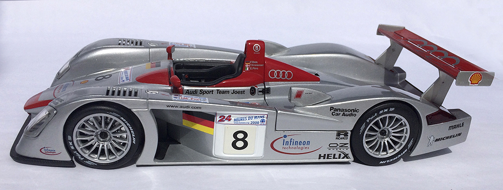 Le Mans, 24 Hours of Le Mans, Diecast, Collectible, Audi R8, Maisto, 1:18, replica, race car, sports car, endurance racer