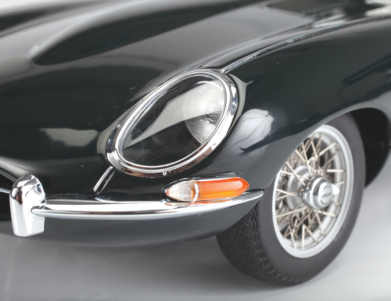 AUTOart Jaguar E-Type 3.8L Series 1 - wheels