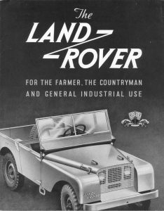 1947 Land Rover Catalog
