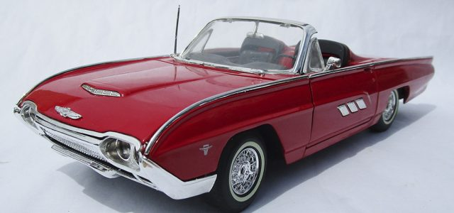 Diecast Review: Anson 1963 Ford Thunderbird Roadster