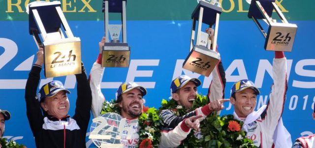 Alonso says the Triple Crown is ON!