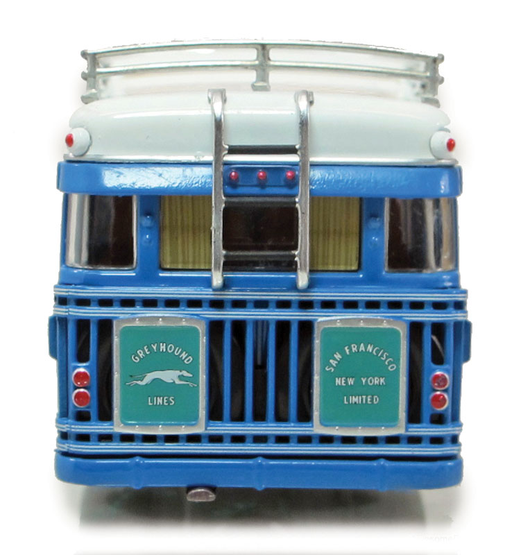 Iconic Replicas Greyhound Bus Lines 1931 Mack BK Parlor Coach figure 1