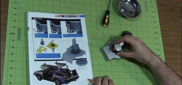 Fusion power for our 1:8 Back to the Future DeLorean build-along! [VIDEO]