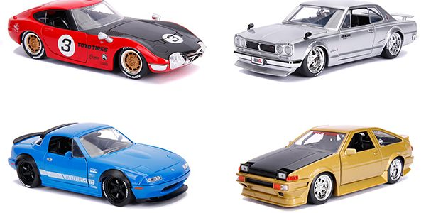 Old-School Cool: Jada Goes Retro with JDM Tuners