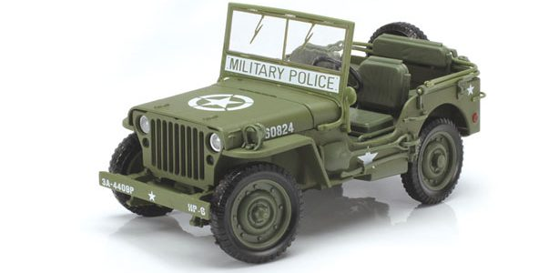 Auto World WW II Willys MB Jeep