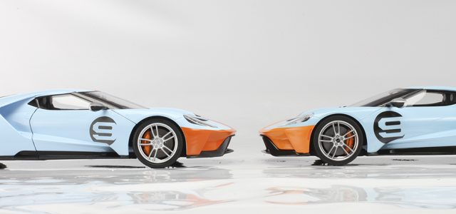 Sneak peek of Maisto and GT Spirit Ford GTs
