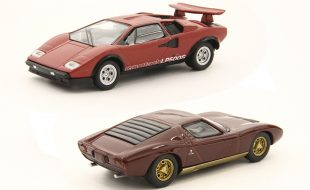 Kyosho 1:64 Lamborghini Miura P400 and Countach LP500S