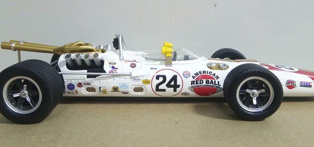 Replicarz Jackie Stewart 1966 Indianapolis 500 Lola T90