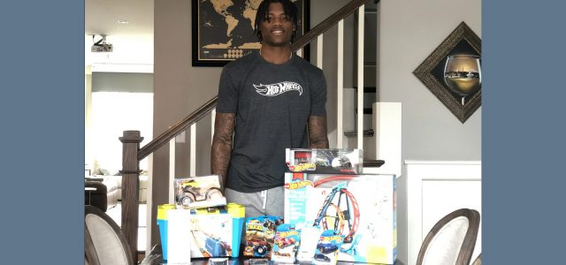 Bengals draft pick Tee Higgins shares his passion for Hot Wheels
